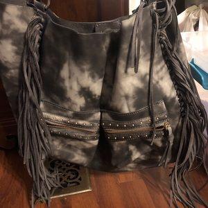 Big Buddha fringe purse